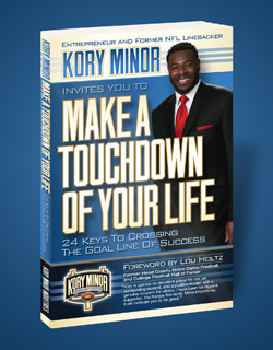Kory Minor's book: Make a Touchdown of Your Life